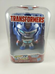 MIGHTY MUGGS Transformers 001 Optimus Prime SPINNING HEAD ACTION FIGURE NEW