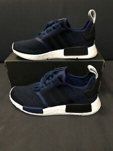 sale retailer fbce8 83c05 Details about Adidas NMD R1 Mystery Blue