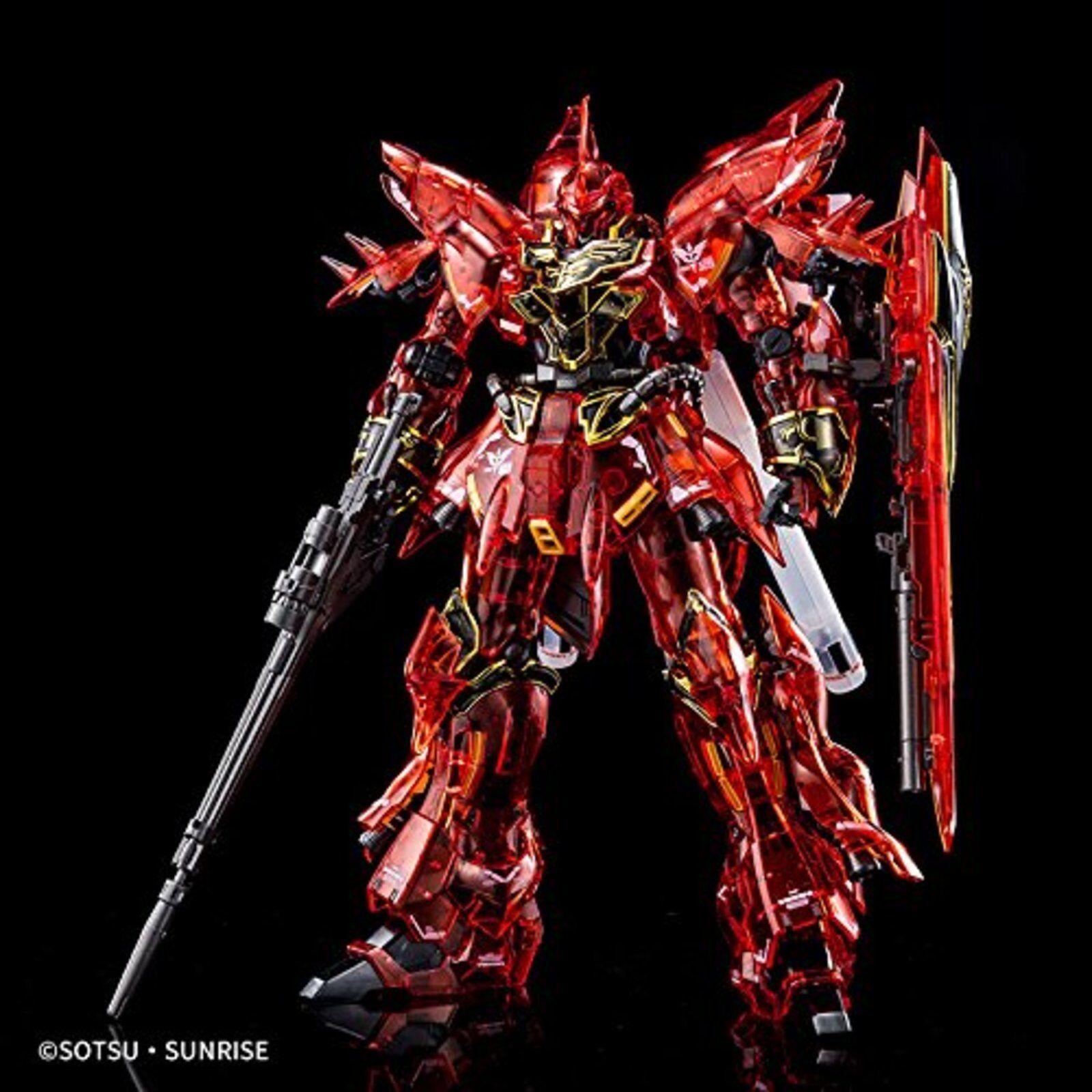 Evento Limitado Rg 1 144 Msn-06s Sinanju Transparente Coloree Gundam