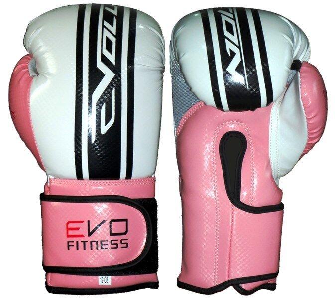 Evo Fitness Femmes Gants de de de Boxe Rose Gel Mma Kick Boxing Muay Thai Entraînement dedd22