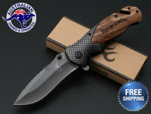 Browning-Folding-Knife-Hunting-Camping-Survival-Fishing-Outdoor-Pocket-Tactical