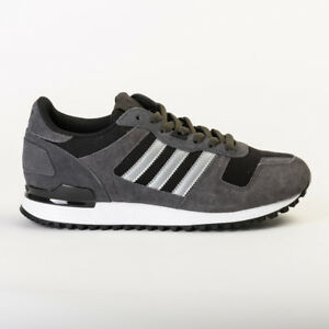 authentic look good shoes sale detailed look Details about ADIDAS ORIGINALS MEN'S ZX 700 BLACK / GREY S80527 UNISEX  TRAINERS / SNEAKERS