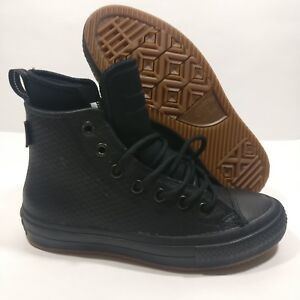 839d3e8db8a Converse Chuck Taylor All Star II Boot HI Waterproof Black (153571C ...