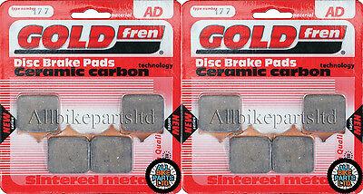 Aprilia RSV 1000 Mille Brake Disc Pads Front L//H Goldfren 2001-2002