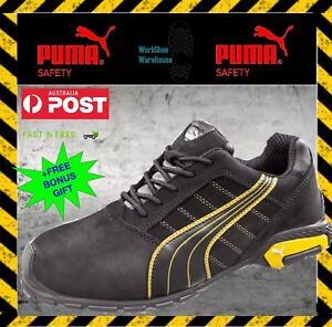 Details about Puma Safety Aluminium Toe Cap Light Work Jogger Shoes 'Amsterdam 642717'.
