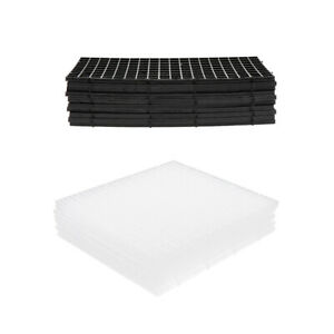 Details About Pack Of 10 Undergravel Filter Fish Tank Aquarium Isolation Board Plate