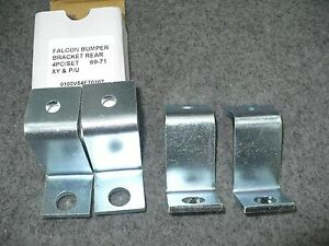 Ford-XY-Ute-Rear-Bumperette-Bracket-Set-4pc