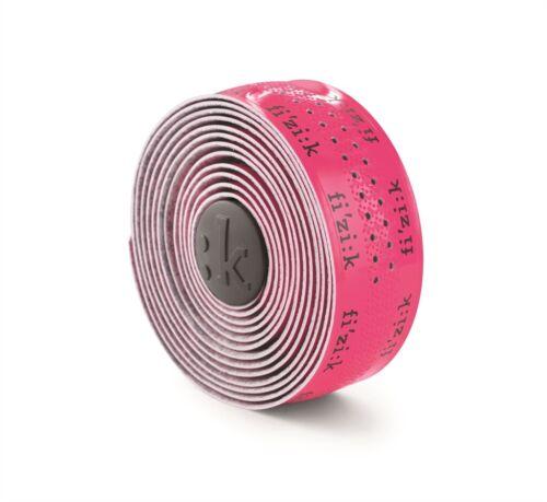 New Fluorescent Pink w// Logo Fizik Superlight 2mm Road Bike Handlebar //Bar Tape