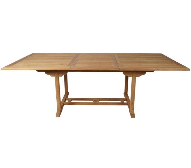 Tisch 60x60 Ausziehbar.Kmh Teak Gartentisch Ausziehbar 170 230 Cm Esstisch Tisch Holztisch Holz