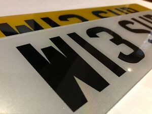 STANDARD-PAIR-ROAD-LEGAL-REG-PRIVATE-SHOW-CAR-NUMBER-PLATES-CHERISHED-NEW