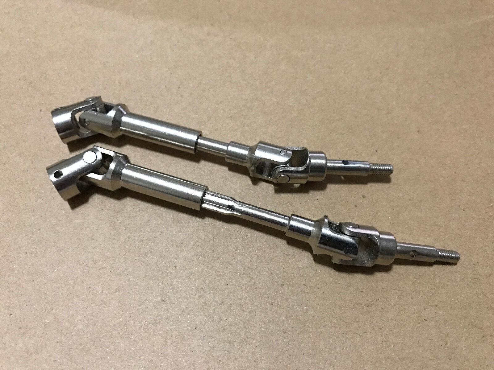 1 10 Traxxas Slash VXL 4X4 Hardened Steel Front Driveshafts CVD JC097
