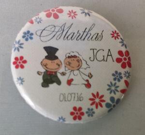 B62 Kleidung & Accessoires Buttons Jga Braut Junggesellinnenabschied 59mm 38mm Button Rabatte Verkauf