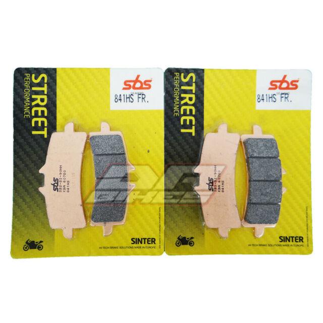 Fits Suzuki GSXR 750 2011 - 2017 SBS Street Sintered Front Brake Pads 841HS