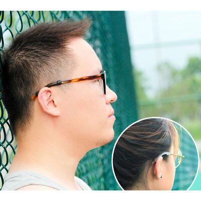 51b32c21d3e0 Glasses Ear Hooks Holder Anti Slip Silicone Grips Eyeglasses Sports ...