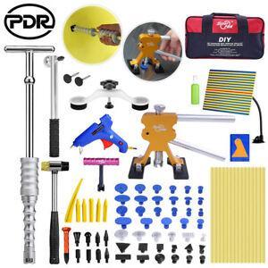 80x Dent Tools Paintless Dent Removal Pulling Birdge Hail Damage Repair hammer