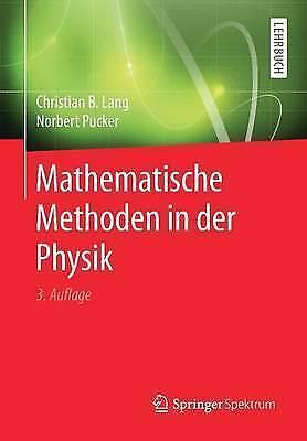 Mathematische Methoden in der Physik by Lang, Ch... | Book | condition very good