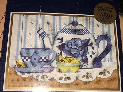 Cross Stitch Kit WELCOME Lemon Tree Counted WM45522 Flower 5 x 7