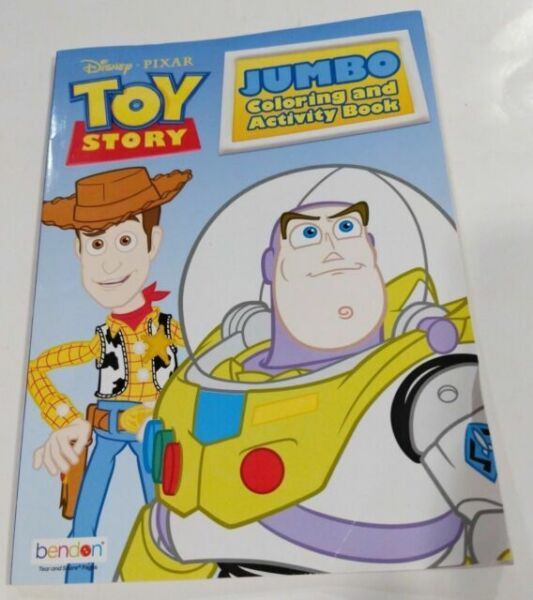 Disney Pixar Toy Story Jumbo Coloring And Activity Book 96 Pages For Sale Online Ebay