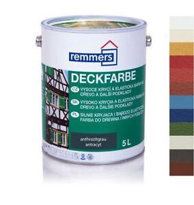 Remmers Aidol Deckfarbe 2,5 L Wetterschutzfarbe alle Farben