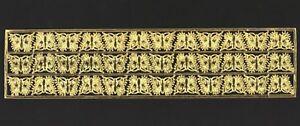 uralte-originale-silber-gepraegte-Dresdner-Pappe-Schmetterlinge-DIE-CUT-SCRAPS