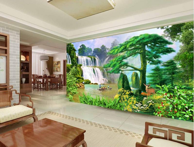 3D 3D 3D Natur Tiere Ölgemälde 853 Tapete Wandgemälde Tapete Tapeten Bild Familie DE | Neues Produkt  |  ceb458