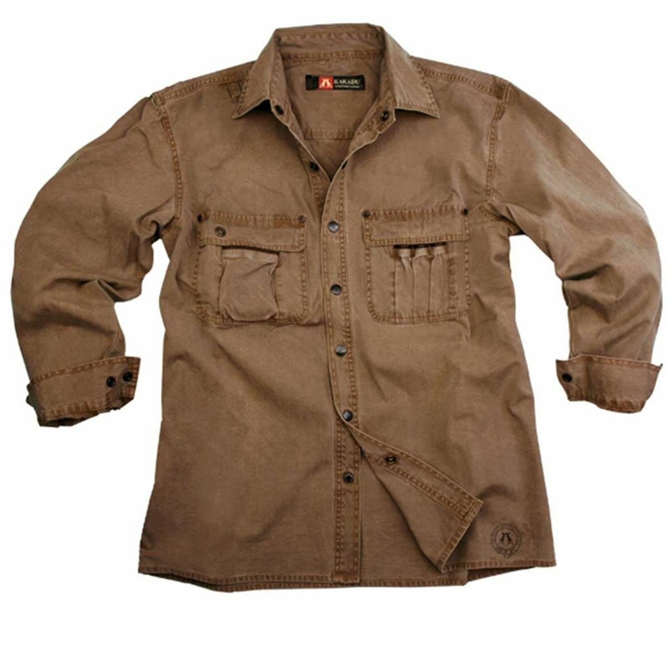 Australian Style Worker Outdoor Men's Shirt Cable from Robust Cotton