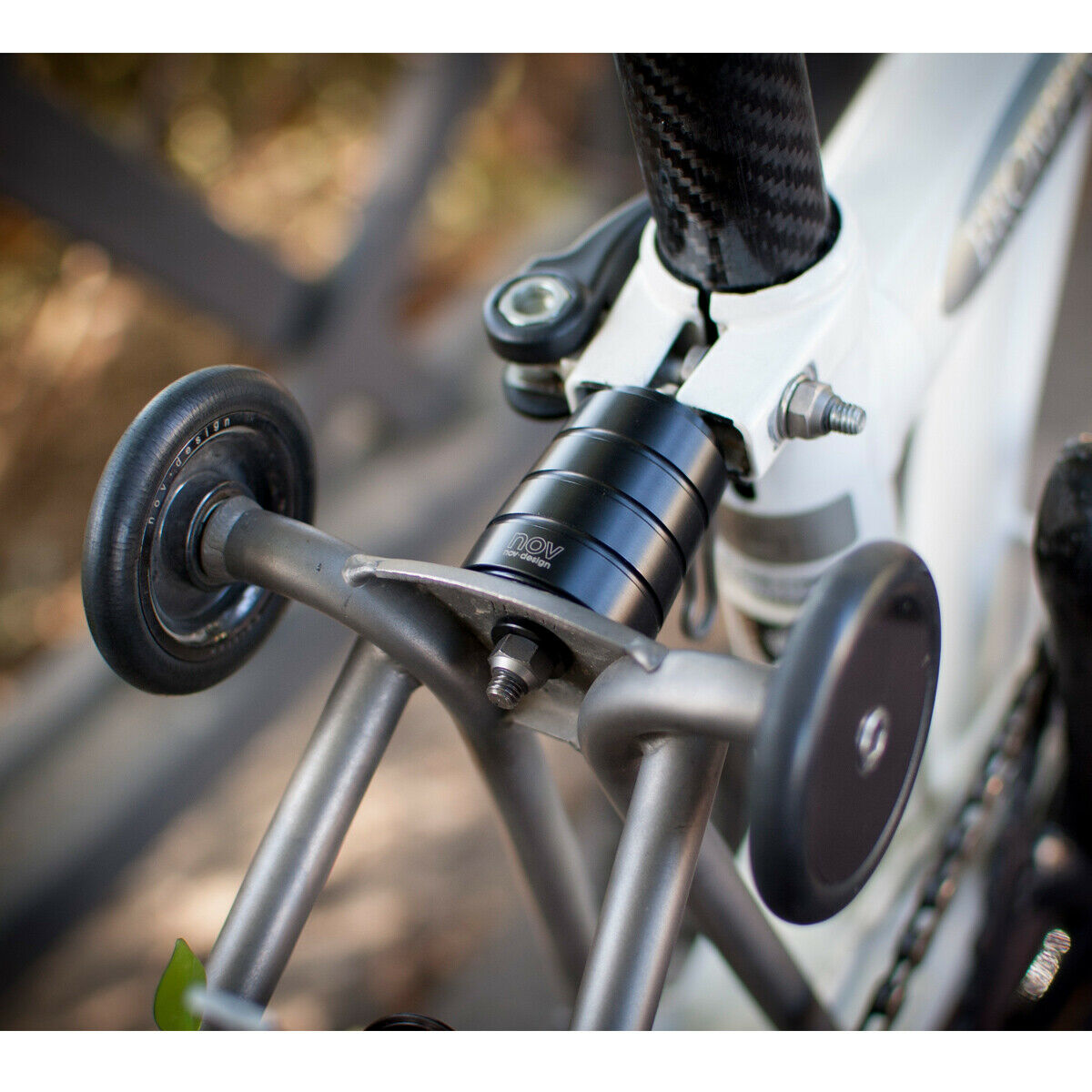 nov Suspension Block Racing Shock series light weight for Brompton Folding Bike