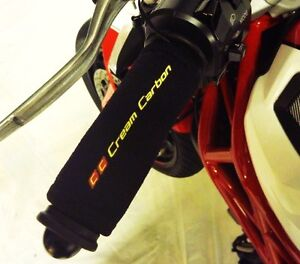 Cream-Carbon-Rechargeable-Heated-Over-Grips-Ducati-898-1098-1198-1199-1299