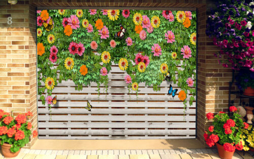 3D Butterfly 88 Garage Door Murals Wall Print Decal Wall Deco AJ WALLPAPER UK