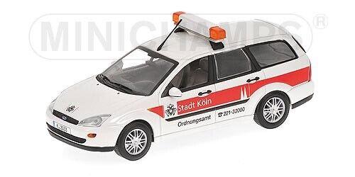 Ford Focus Turnier 1997 Ordnungsamt Stadt Koln 1 43 modello MINICHAMPS