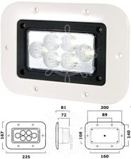 Osculati 1x1.2W HD Articulating Light for Bedside and Chart Table 12//24V 10W