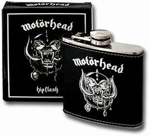 Motörhead Flachmann - Schnapsflasche - Heavy - Metal - Lemmy Kilmister- Warpig