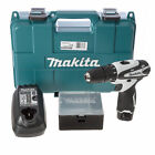 Makita HP330DWWX2 10.8-Volt Cordless Combi Drill with 1.3mAh Battery - White