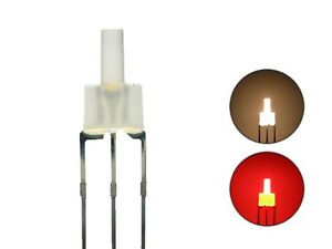S445-10-Stk-DUO-LEDs-2mm-Bi-Color-warmweiss-rot-diffus-Lichtwechsel-Loks-DIGITAL