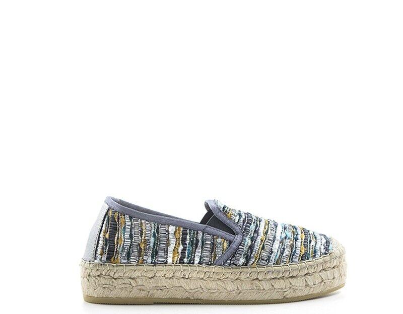 Schuhe VIDORRETA Frau Blau Stoff 06300PI