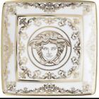 ROSENTHAL VERSACE MEDUSA ASH TRAY PLATE GOLD 24kt. AUTHENTIC NEW BOX BEST SALE