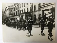 ww2 photo press Le commandant Kieffer à Londres en 1941         B355