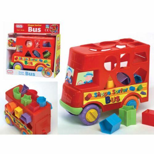 Fun TIme Push Along Bus Shape Sorter for 12m+