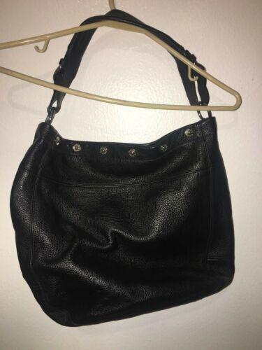 Black Bag Snap Msrp375 Leather Medium Frieze Trim Furla Shoulder 4Aj5R3L