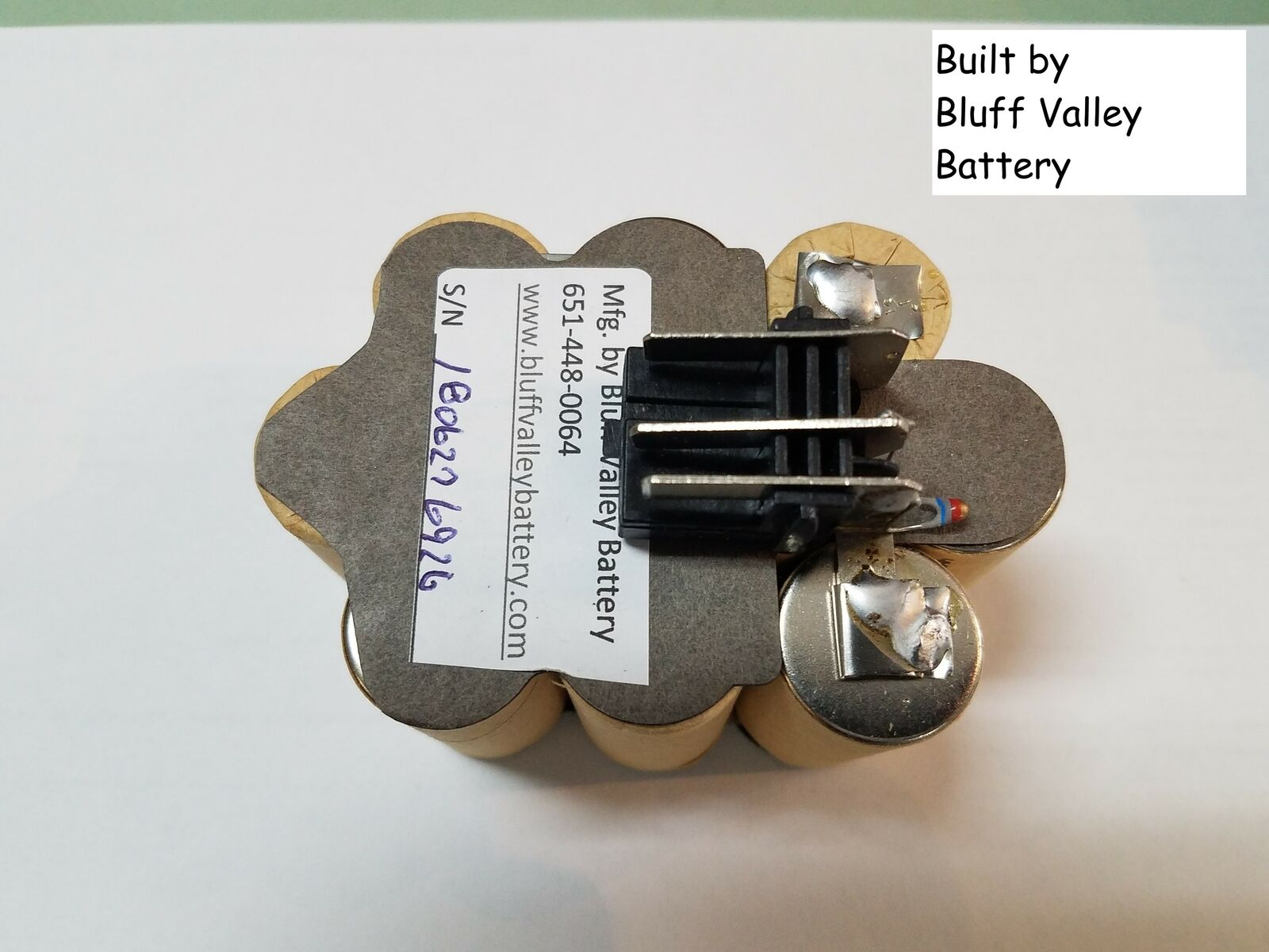 Milwaukee 48-11-1970 12 V 3800 mAh NiMh Battery Rebuild Kit