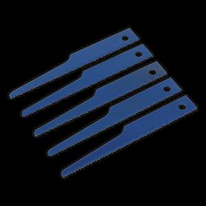 SA34-B14-Sealey-Tools-Air-Saw-Blade-14tpi-Pack-of-5-Saws-Saws-Air-Blades