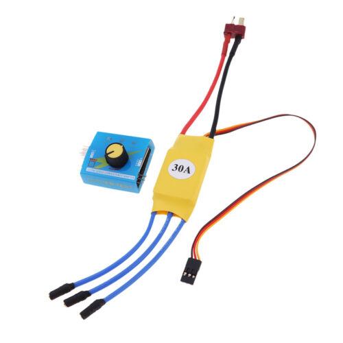 XXD 30A RC Regolatore di velocità Brushless ESC Servo Tester per RC