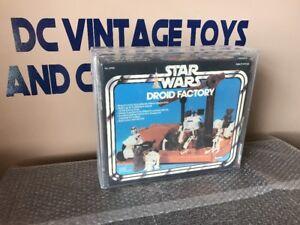 R2-D2-Droid-Factory-1979-AFA-80-NM-STAR-WARS-Vintage-Kenner-3rd-3-Leg-Third
