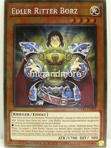 Yu Gi Oh 1x Edler Ritter Borz Nkrt Noble Knights Of The Round