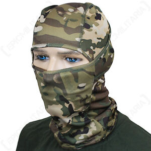 MULTITARN CAMO BALACLAVA Lightweight Breathable Tactical Military Army Green