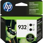 HP Genuine 932 Black Twin of Ink Cartridges 2019 for Officejet 6100 6600