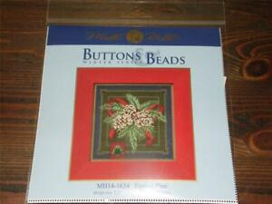 MILL-HILL-Buttons-amp-Beads-Counted-Cross-Stitch-Kit-MH14-1634-FESTIVE-PINE