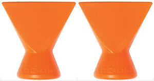 """Pack of (2) 1/4"""" Flare Nozzles Loc-Line® USA Original Modular Hose System #41407"""