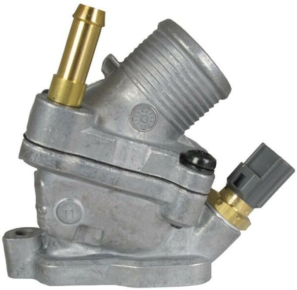 Engine Coolant Thermostat  Water Outlet Assembly