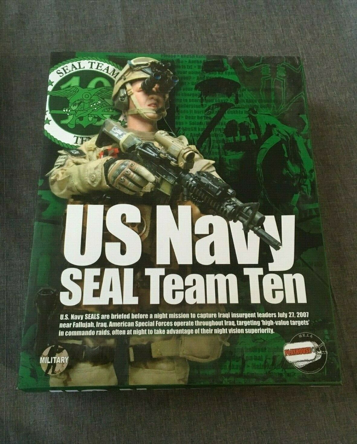 Playhouse 1 6 Scale 12  US Navy Seal Team Ten 10 Action Figure